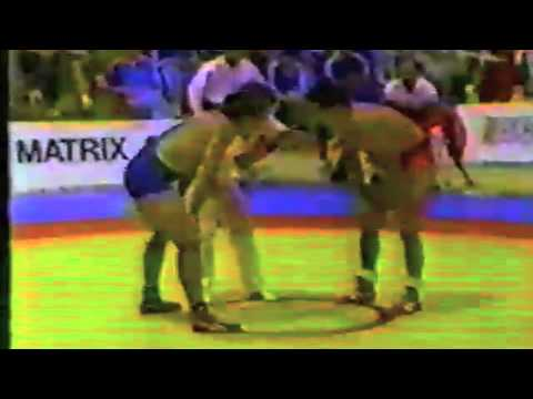 1988 Canada Cup: 74 kg Bronze Chris Wilson (CAN) vs. Gord Sturrock (CAN)