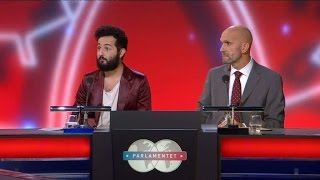 MVG till Soran Ismail & Henrik Hjelt när kunskapsronden handlar om hästar - Parlamentet (TV4)