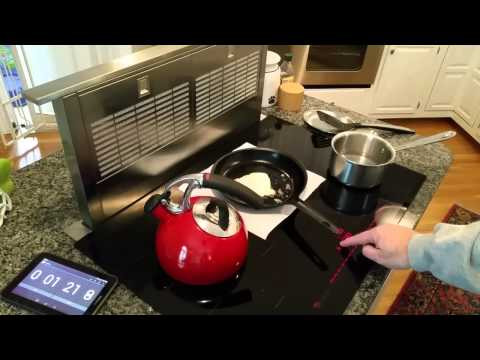 Induction Cooktop and Downdraft