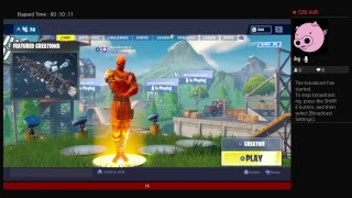 Fortnite Battle Royale Doing glitches in creative