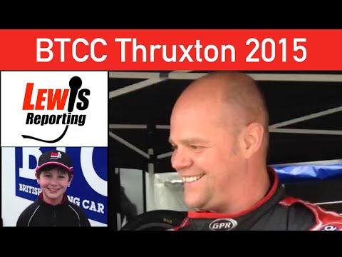Warren Scott - TeamBMR - BTCC Thruxton 2015