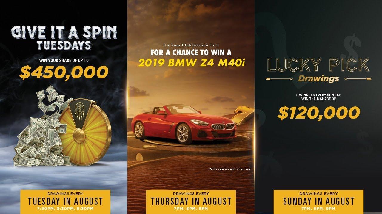 Promos & Rewards | San Manuel Casino