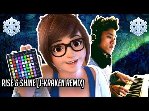Overwatch | If Mei sang on an EDM banger (Rise & Shine Remix) | J-Kraken