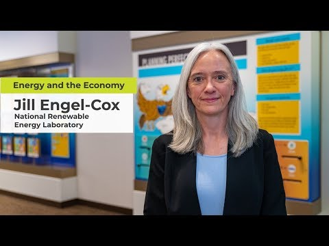 Jill Engel-Cox discusses the outlook for renewable energy