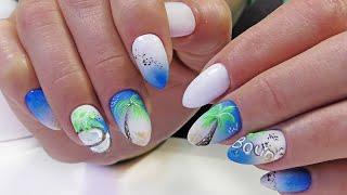 Дизайн ногтей Баунти на клиенте