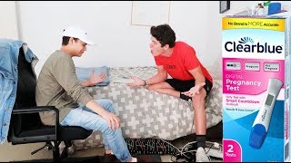 I GOT A GIRL PREGNANT PRANK ON BROTHER!