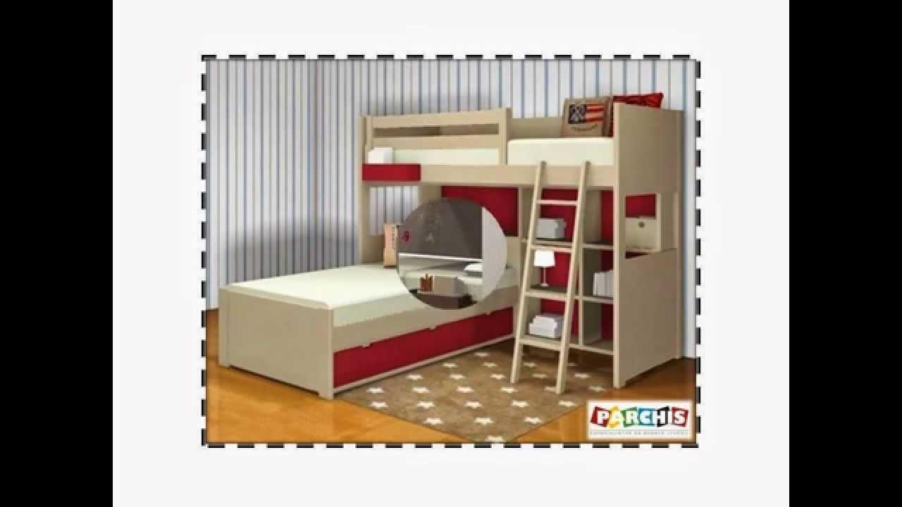Ver fotos camas infantiles lacadas camas para ni as habitaciones ni os madrid muebles youtube - Fotos camas infantiles ...