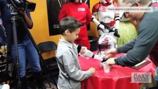 Kid gets 3-D printed Stormtrooper arm