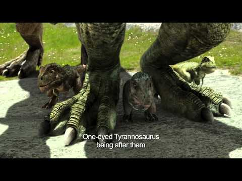 SPECKLES: THE TARBOSAURUS 3D (English Subtitled Trailer)