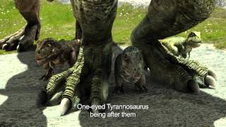 SPECKLES THE TARBOSAURUS 3D (English Subtitled )