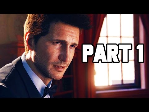 Uncharted 4 Gameplay Walkthrough Part 1 - Prologue / Chapter 1 FULL GAME!! 3+ HOURS!! (PS4 1080p HD)