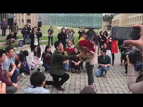 Flash Mob Marriage Proposal- University of San Francisco