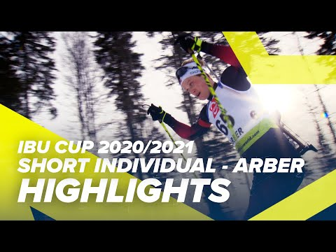 Arber Highlights Men Short Individual IBU Cup 2020/2021