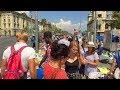 Barcelona's La Rambla COMPLETE WALK from Catalonia Square to the Port