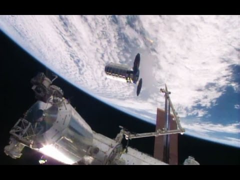 Unmanned cargo ship reaches International Space Station on resupply run
