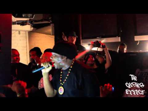 KRS ONE w/ Ras Kass Live At The Cypher Effect Event (10/06/12)