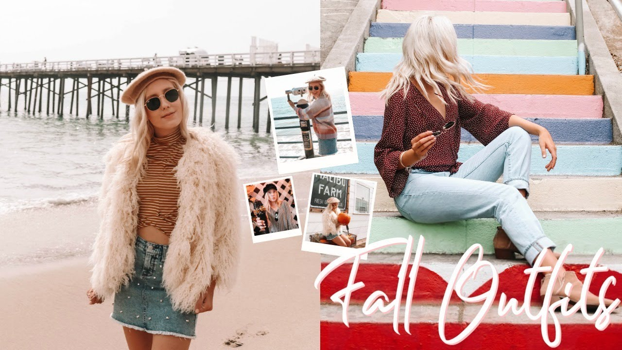 [VIDEO] - FALL OUTFITS 2018 | FALL LOOKBOOK 5