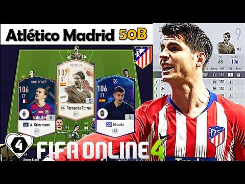 """Xây Dựng & Trải Nghiệm Đội Hình """" Atlético Madrid  +5 """" 50B Đẹp Xuất Sắc Với Fernando Torres NTG +5"""