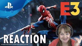 Spiderman Gameplay Demo (Sony E3 2018 Demo)
