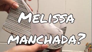 Como tirar mancha de Melissa!! (o segredo)