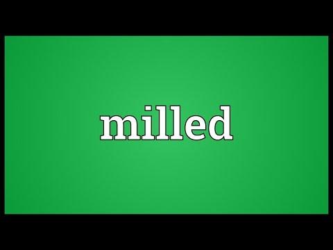 Header of milled