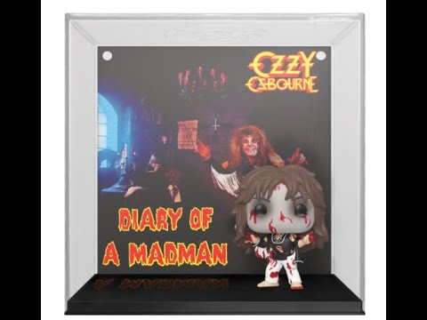 """Ozzy Osbourne's 1981 album """"Diary Of A Madman"""" new available through Funko's 'Pop! Albums'"""