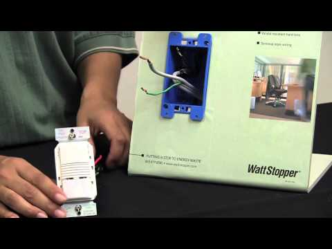 Wattstopper: How to: Installing a PW-100 Pive Infrared Wall ... on