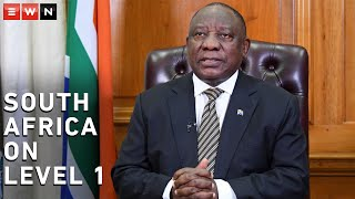 President Cyril Ramaphosa addressed the nation to announce that the country will move to alert level one of lockdown from midnight on Sunday, 20 September 2020.  #CoronavirusSA #Lockdown #Level1 #Ramaphosa