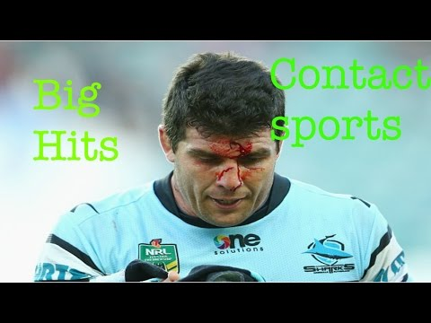 BIGGEST HITS IN CONTACT SPORT!