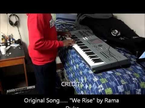 """we-rise""-keyboard-cover"