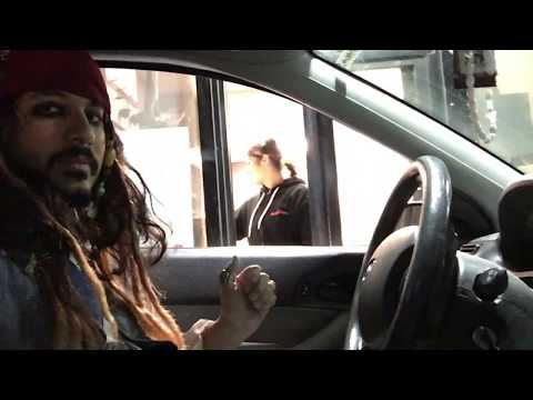 Pirates Of The Caribbean! Jack Sparrow Drive Thru Prank!