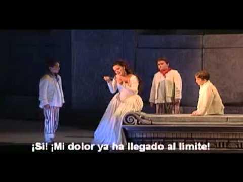 Pamina a ponto de suicidar-se - A Flauta Mágica / Mozart