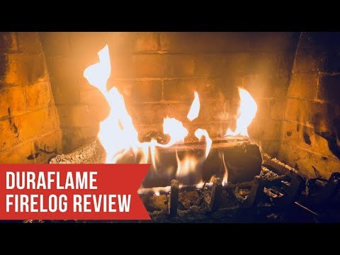 Duraflame FireLog Review And Demonstration!