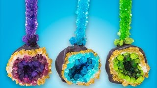 How to Make Geode Cake Pops from Cookies Cupcakes and Cardio thumbnail