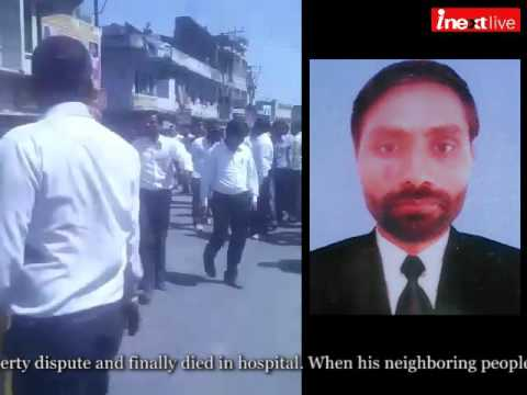 UP: Advocate murder in Kanpur, angry crowd make violence on GT road