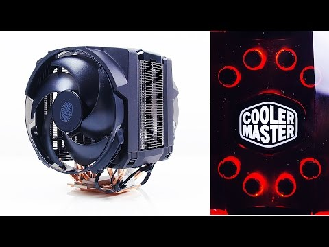 Cooler Master MasterAir Maker 8 - The Best CPU Heatsink Cooler?