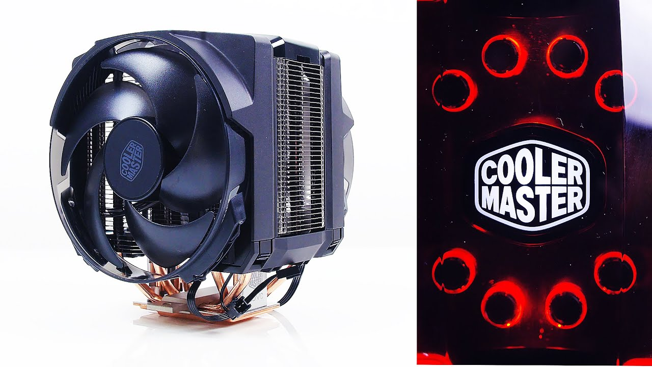 cooler master masterair maker 8 the best cpu heatsink cooler youtube. Black Bedroom Furniture Sets. Home Design Ideas