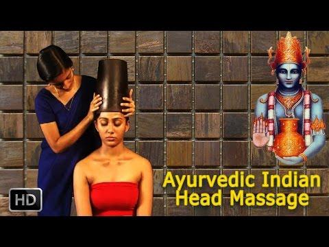 Ayurvedic Indian Head Massage - SIRO VASTI - Oil Massage For Relaxation, Rejuvenation & Stress