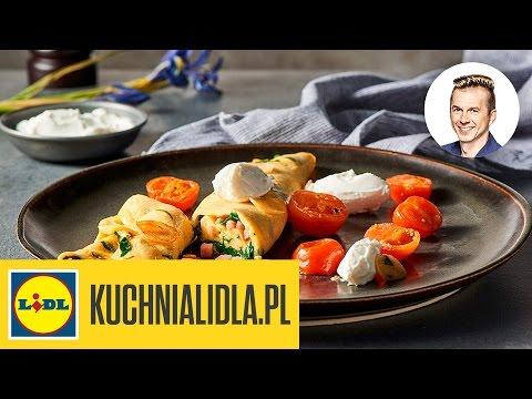 Omlet Ze Szpinakiem I Szynką Karol Okrasa Kuchnia Lidla