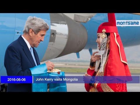 John Kerry visits Mongolia