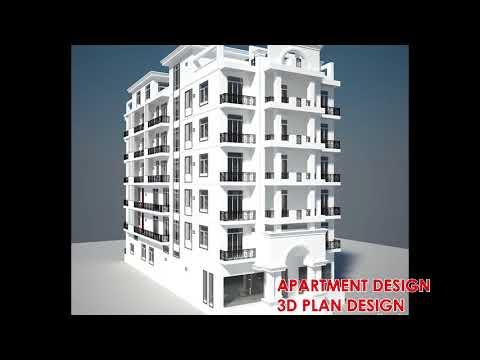 APARTMENT BUILDING DESIGN# NEW CONCEPT DESIGN