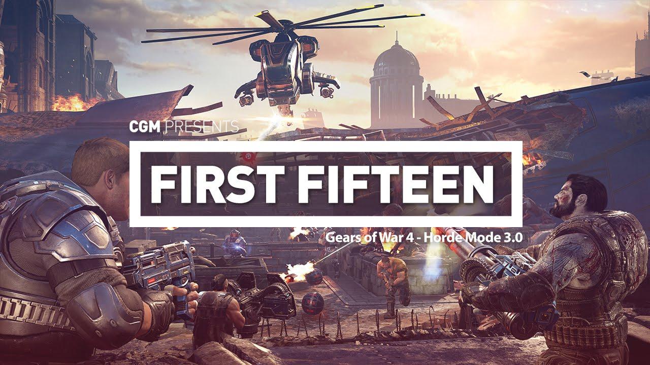 First Fifteen - Gears of War 4 Horde Mode 3 0   N4G