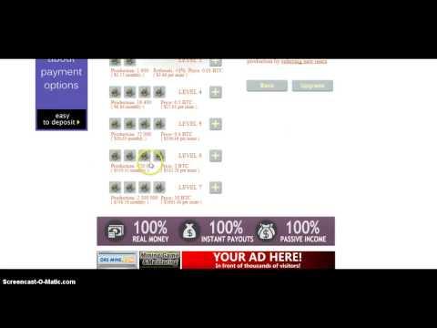 Ore Mine Игра Майнинг с выводом биткоин сатоши
