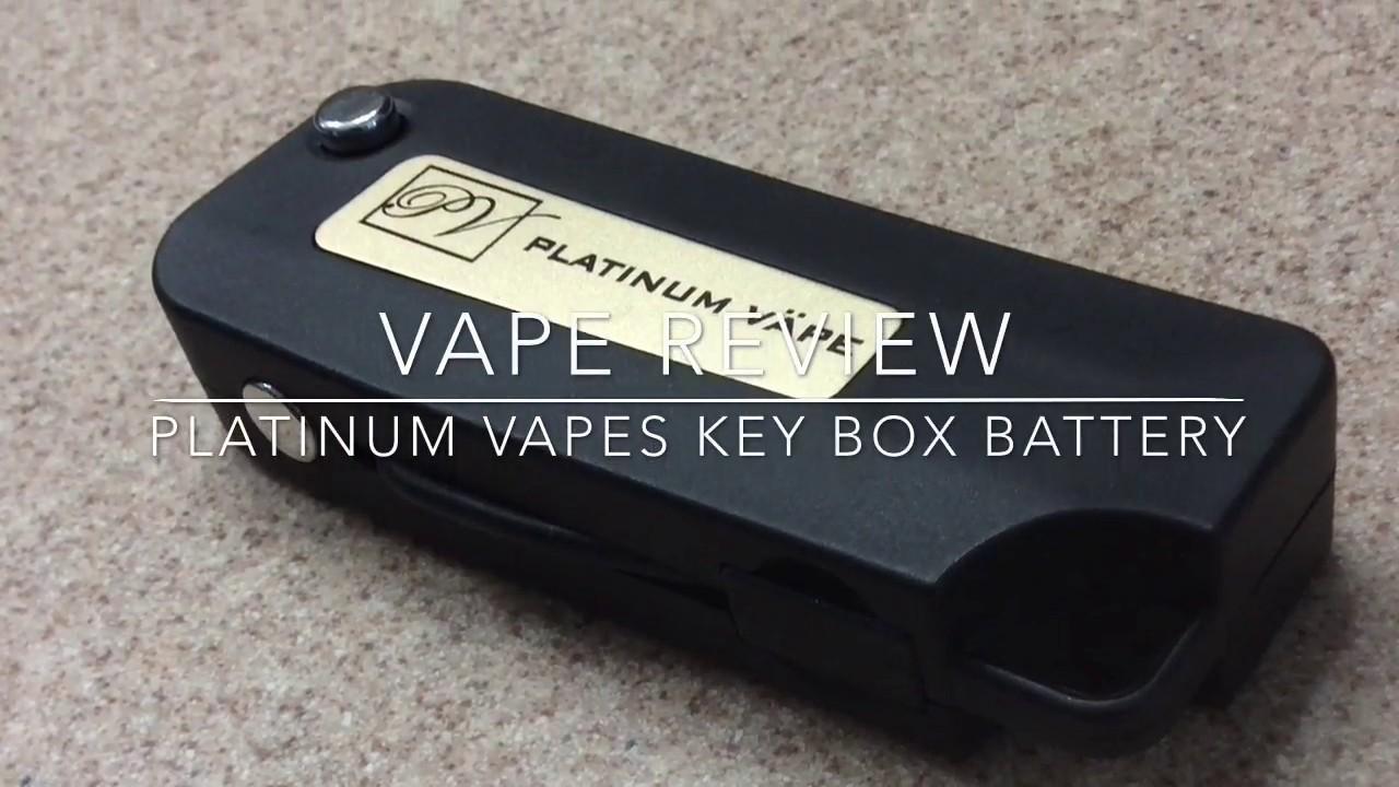 Platinum Vape//Key Battery Box Review