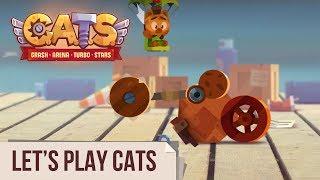 Let's Play C.A.T.S: Crash Arena Turbo Stars (Live Stream #108)