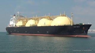 LNG EBISU LNGタンカー LNG TANKER SHIP