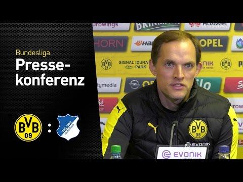 PK Thomas Tuchel: Brauchen alles, was wir haben | BVB - TSG Hoffenheim