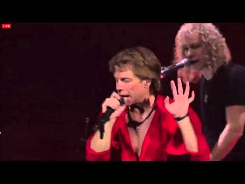 Bon Jovi - Bad Medicine - Cleveland 2013 - Livestream