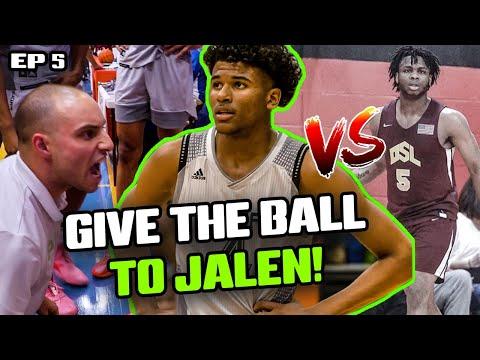"""These Guys Are Gonna HURT YOU!"" Jalen Green & Prolific Battle MEAN NYC Team! Jalen PRANKS Teammate!"