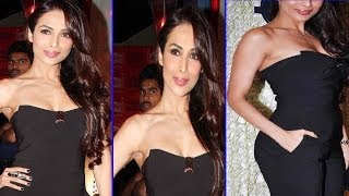 Lady Malaika Arora looks Voluptuous in Her Black Dress at an Event!!!